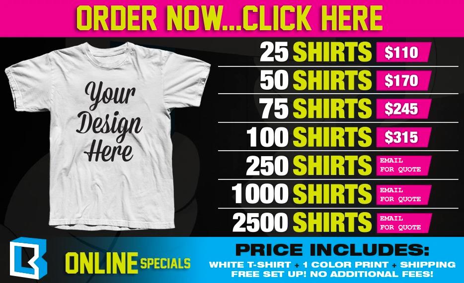 Custom T-Shirts, Screen Printing, Custom T-Shirt Company ...