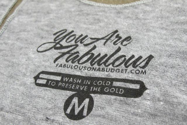 Custom re labeling for Custom t shirts with custom tags